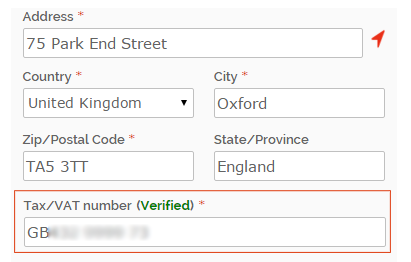 One step checkout module Magento 2 Tax/VAT number verification